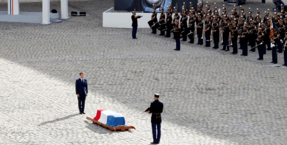 церемонія прощання з Бельмондо