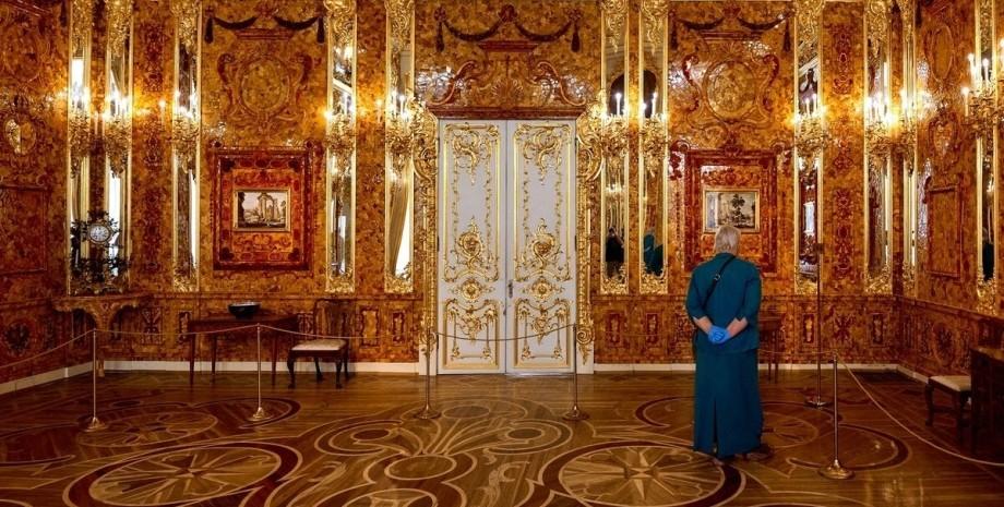 бурштинова кімната, Катерининський палац