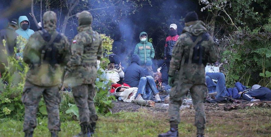 нелегальные мигранты, Беларусь, Польша, режим ЧП в Польше, режим ЧП на границе с Беларусью