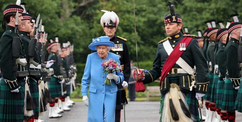 королева, визит