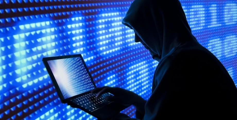 хакер, ноутбук, кбератака