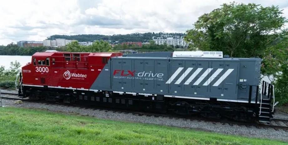 FLXdrive, локомотив, аккумуляторы,