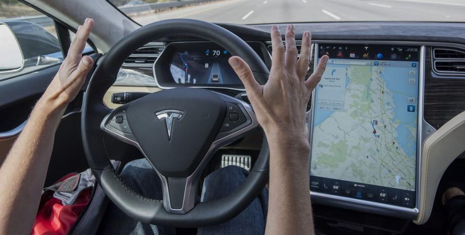 beta-тестирование автопилота Tesla