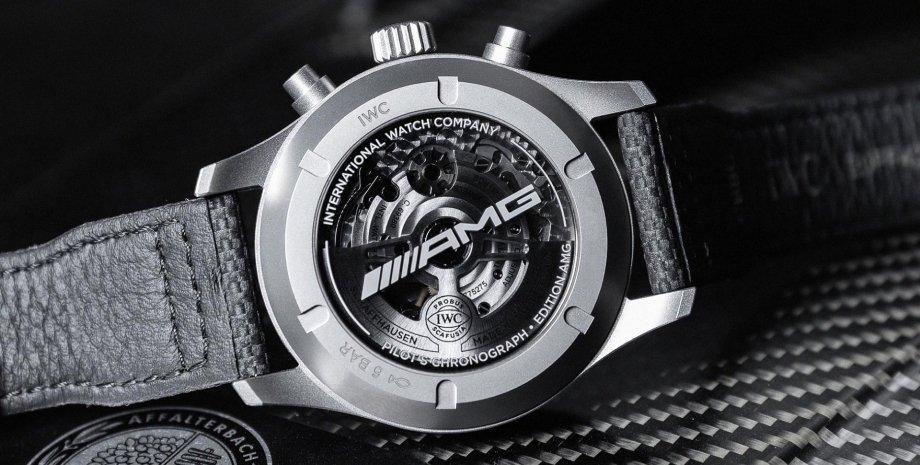 "Часы IWC Pilot's Watch Chronograph Edition ""AMG"""