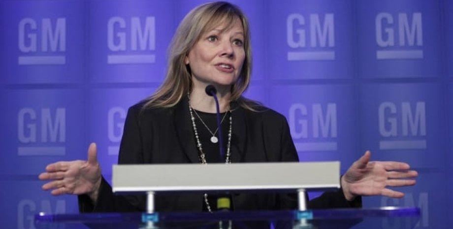 Руководитель GM Мэри Барра. Фото: CNBC