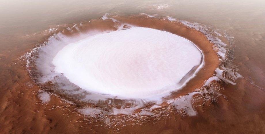 кратер Корольов, Марс, поверхня, фото