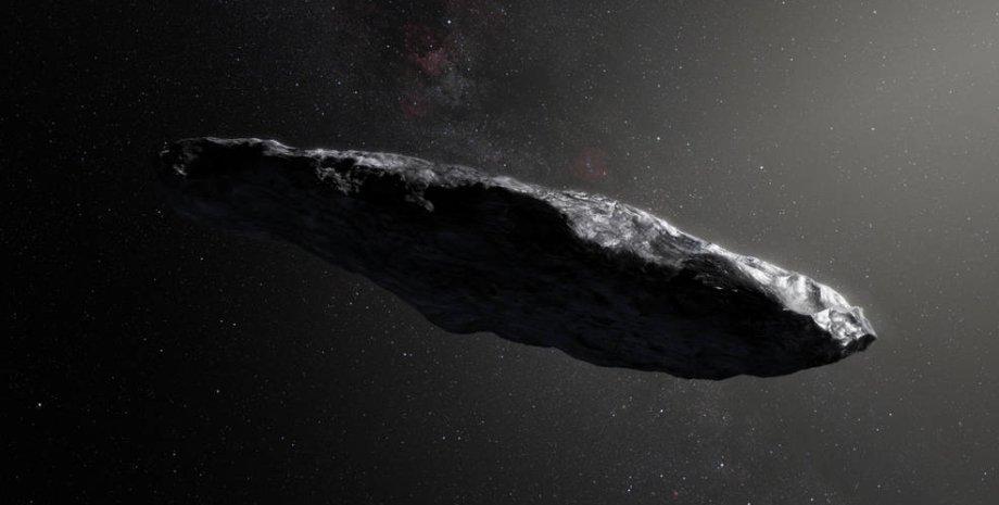 внеземная жизнь, космос, Оумуамуа