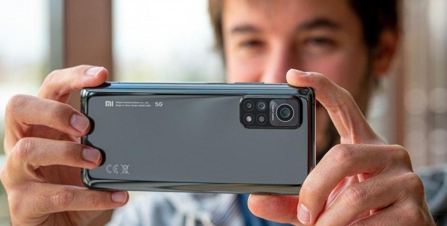 смартфон, камера