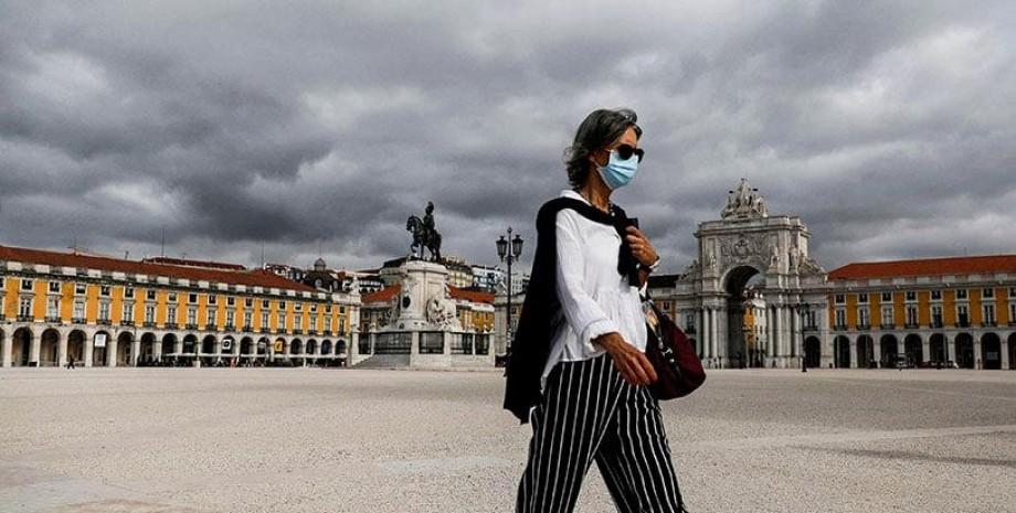 Португалія, коронавірус, туристи, фото