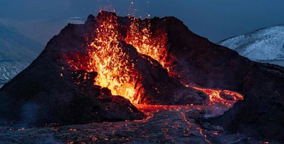вулканы, кислород, Земля