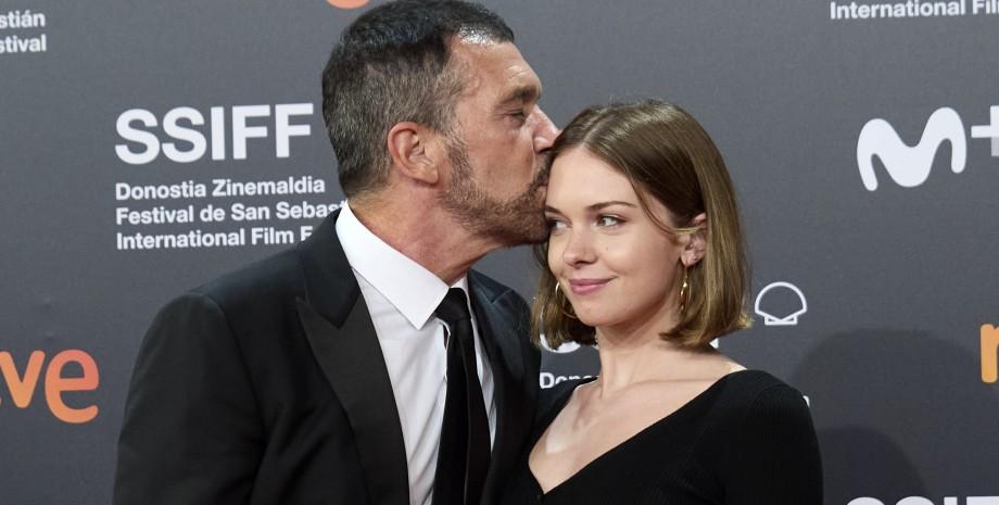 Антонио Бандерас с дочерью