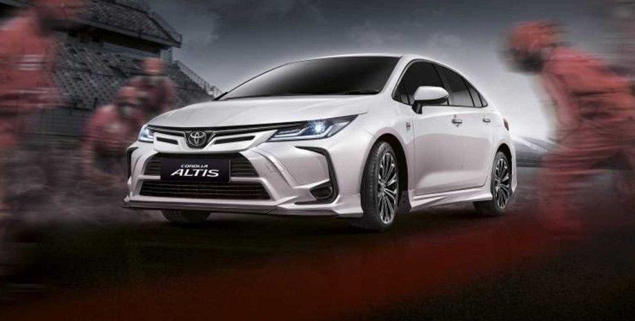 Toyota Corolla Altis Nurburgring Edition, Toyota Corolla 2022, нова Toyota Corolla