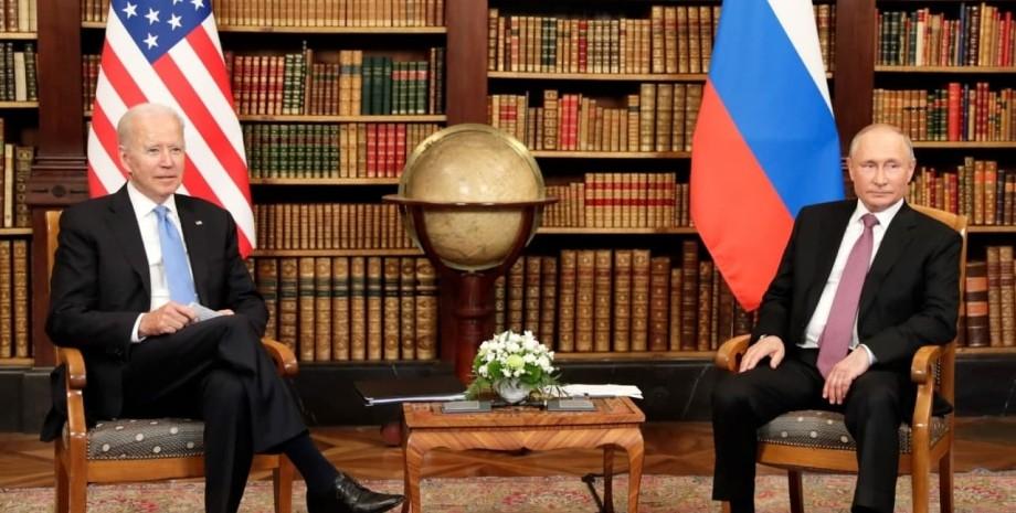 Байден, Путін, вбивця