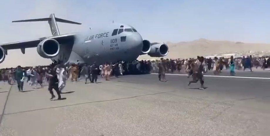 Владимир Зеленский, президент, Кабул, эвакуация,