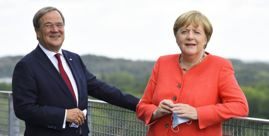 Ангела Меркель, партия ХДС/ХСС, Армин Лашет