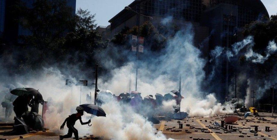 Протесты в Гонконге. Фото: The Star Online