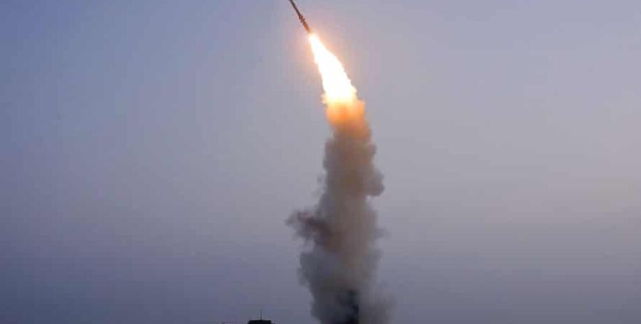 КНДР, ракета, запуск,
