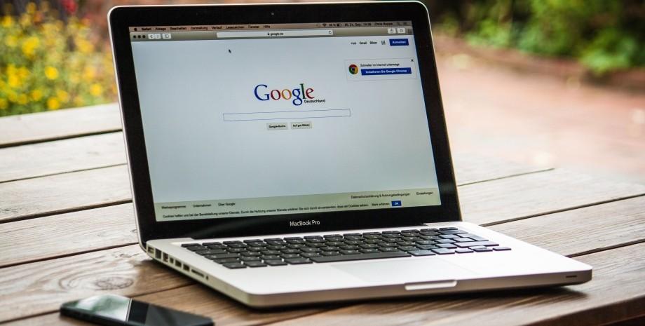 Google, ноутбук