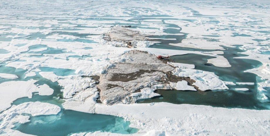 ученые открыли новый остров в гренландии