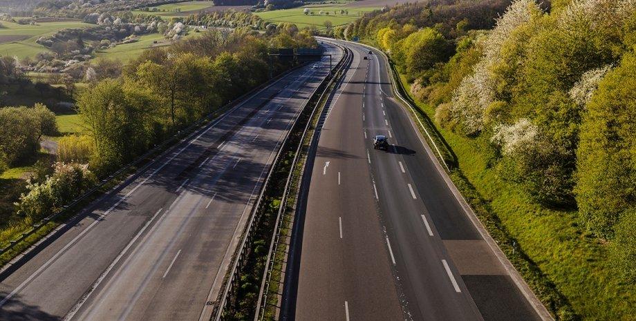 Автобан в Німеччині, автобан, німецькі автобани, обмеження швидкості, ліміт швидкості