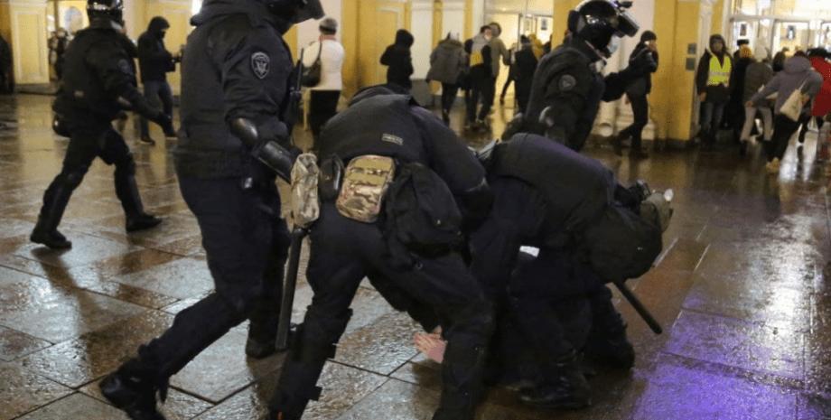 задержание, рф, навальный