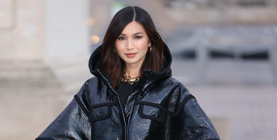 Louis Vuitton, джемма чан, модний показ, тренд сезону, наймодніше пальто, тренди осені 2021