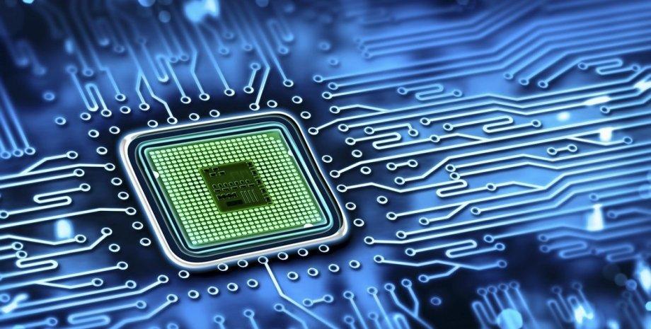 чип, мікросхема, процесор, ілюстрація