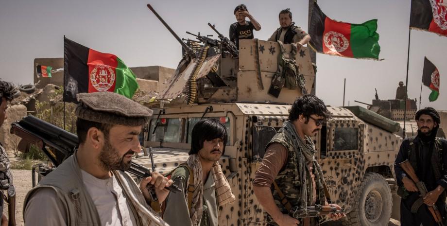 противостояние талибану