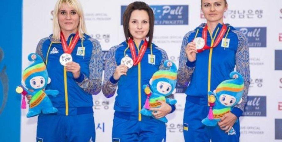 Слева - направо: Валентина Горчарова, Виктория Рыбовалова и Галина Авраменко/Фото: iSport