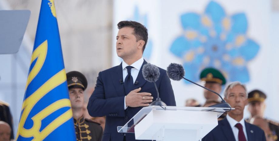 Володимир Зеленський в День незалежності
