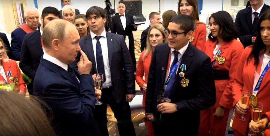 Путин нос