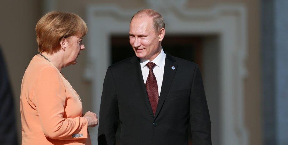 Ангела Меркель и Владимир Путин / Фото: Getty Images