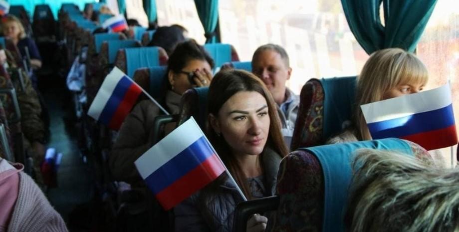 Продуктовый набор для жителей ОРДЛО, которые голосовали на выборах в Госдуму