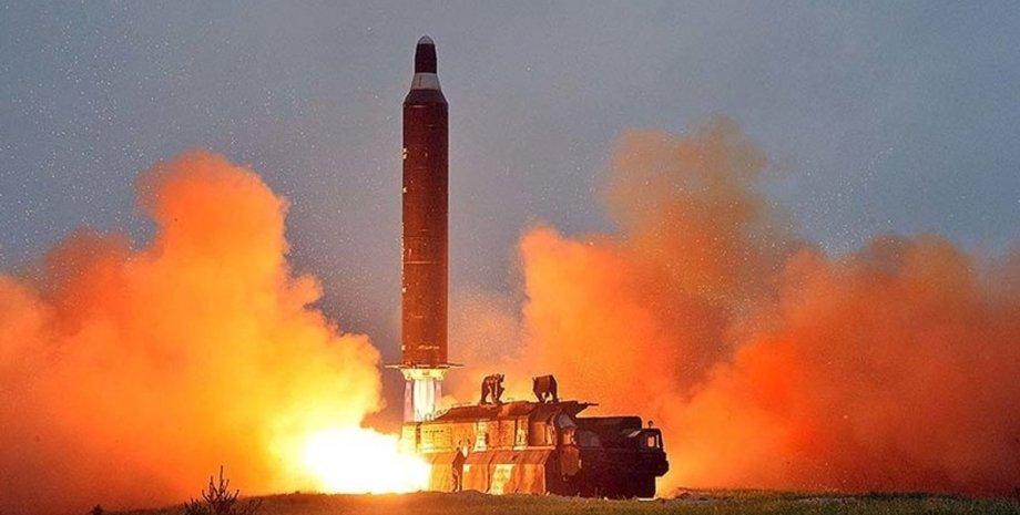 тестування ракет КНДР, балістичні ракети в районі Японії