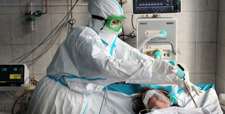 коронавірус, лікар, пацієнт, фото