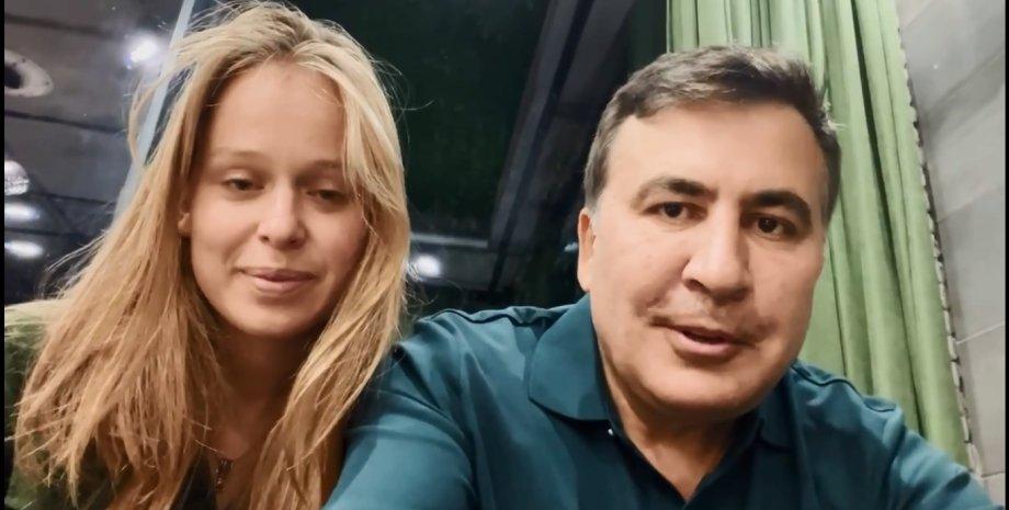 Єлизавета Ясько та Міхеіл Саакашвілі зізналися в романі