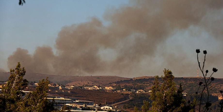 Израиль, Ливан, обстрелы