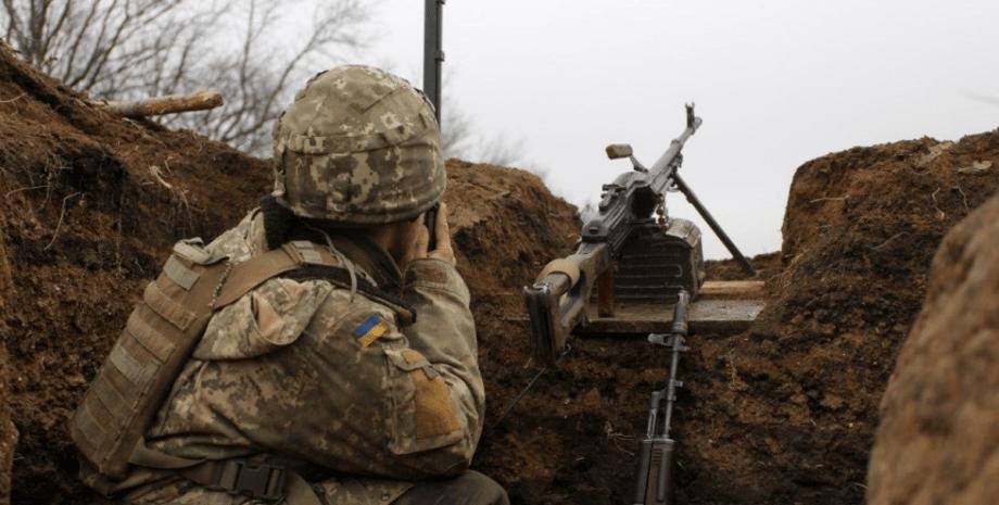 Донбасс, война, обстрел