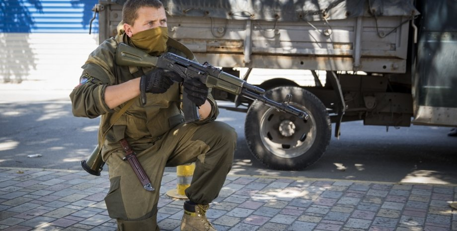 Боевик в Донецке / Фото: Getty Images