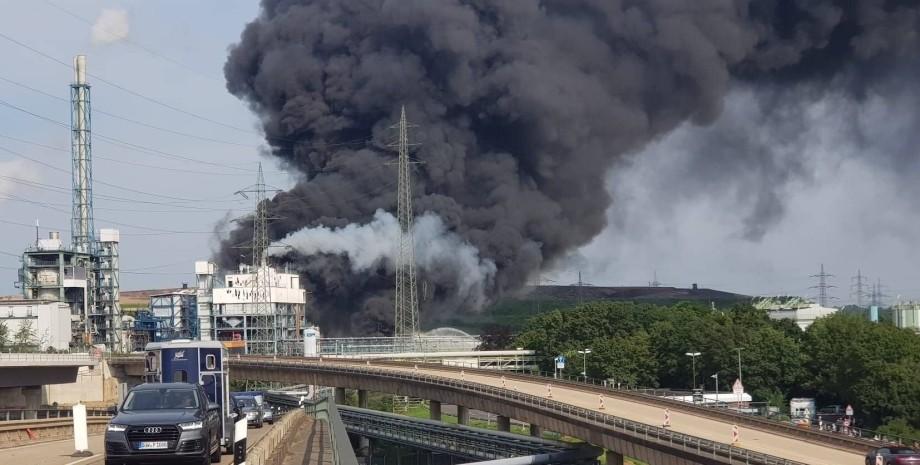 вибух на заводі, германію