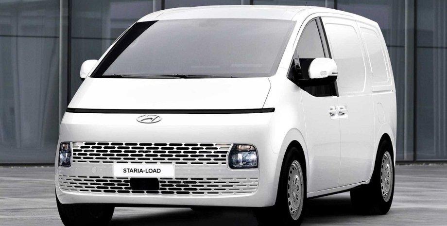 Hyundai Staria 2022, новый Hyundai Staria, Hyundai Staria Load, грузовой Hyundai Staria