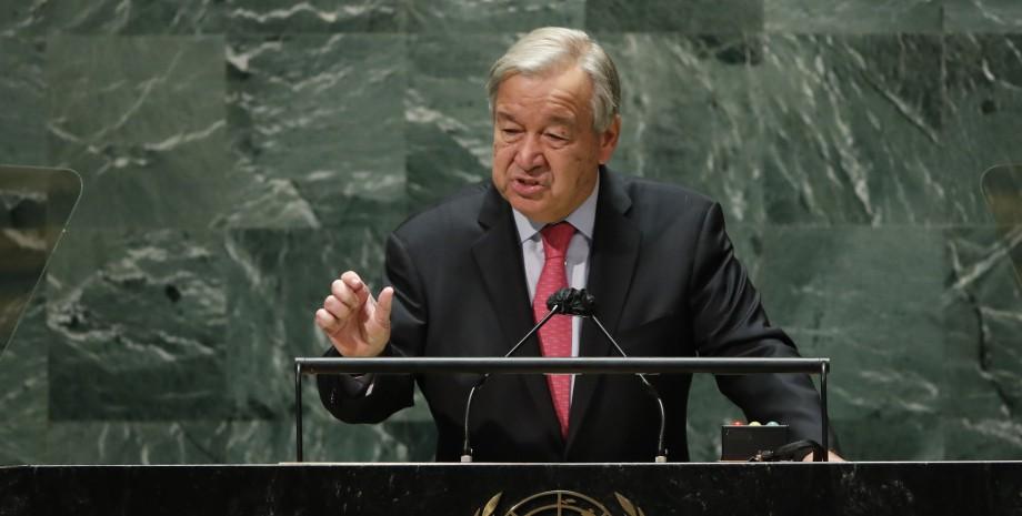 Антониу Гутерриш в ООН