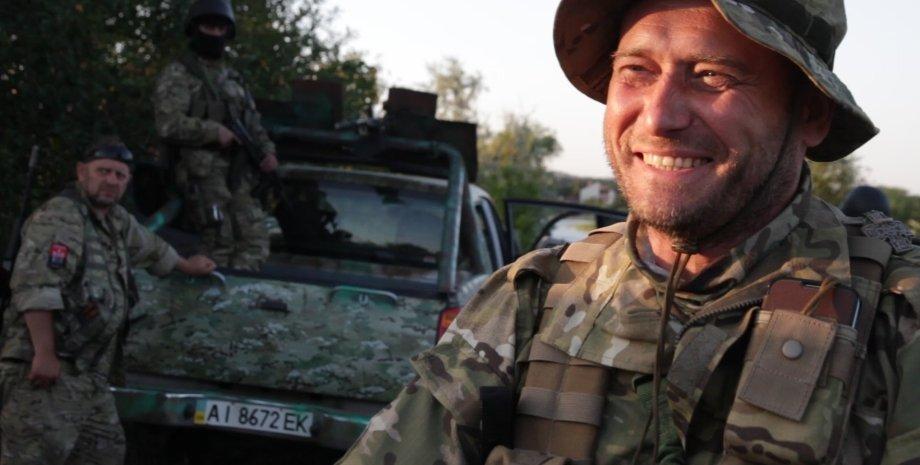 Дмитрий Ярош / Фото: кадр из видео на Youtube