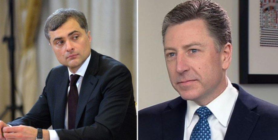 Владислав Сурков и Курт Волкер / Фото: Беларуская Праўда