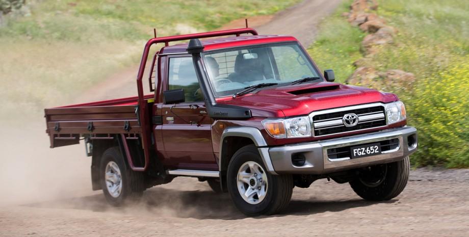 Toyota Land Cruiser 70 оновлення Австралія