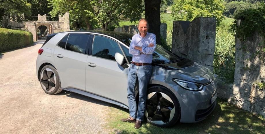 Volkswagen Group Герберт Дисс зарядные станции