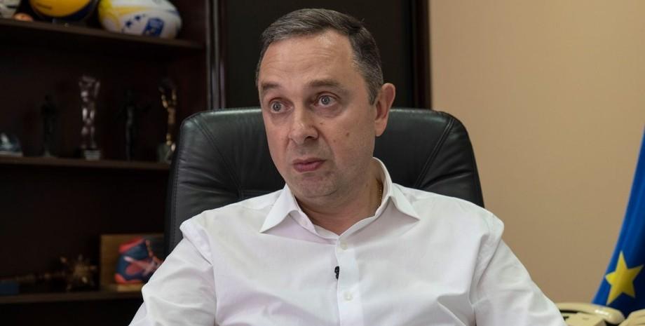 Вадим Гутцайт, министр, Миннспорта,