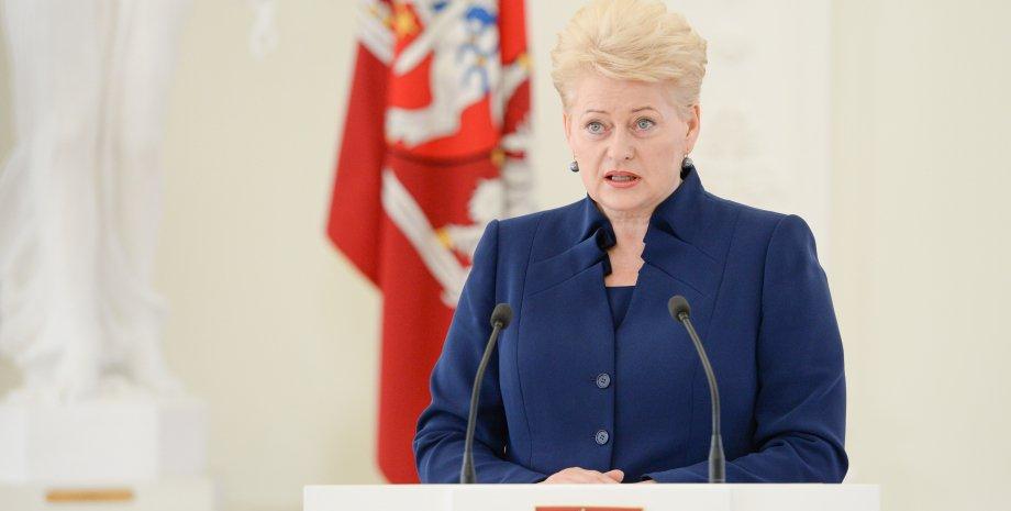 Даля Грибаускайте / Фото пресс-службы президента Литвы