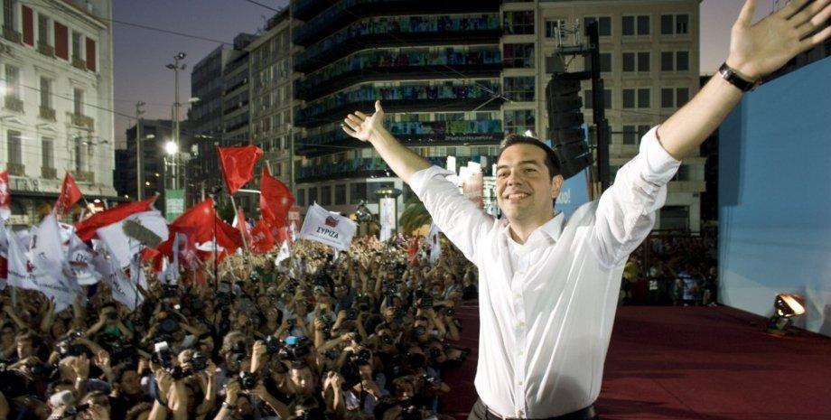 Новый премьер-министр Греции Алексис Ципрас / Фото: elitetrader.ru