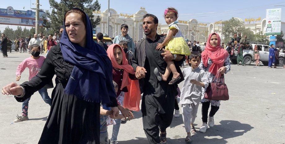 Афганцы, Афганистан, беженцы из Афганистана